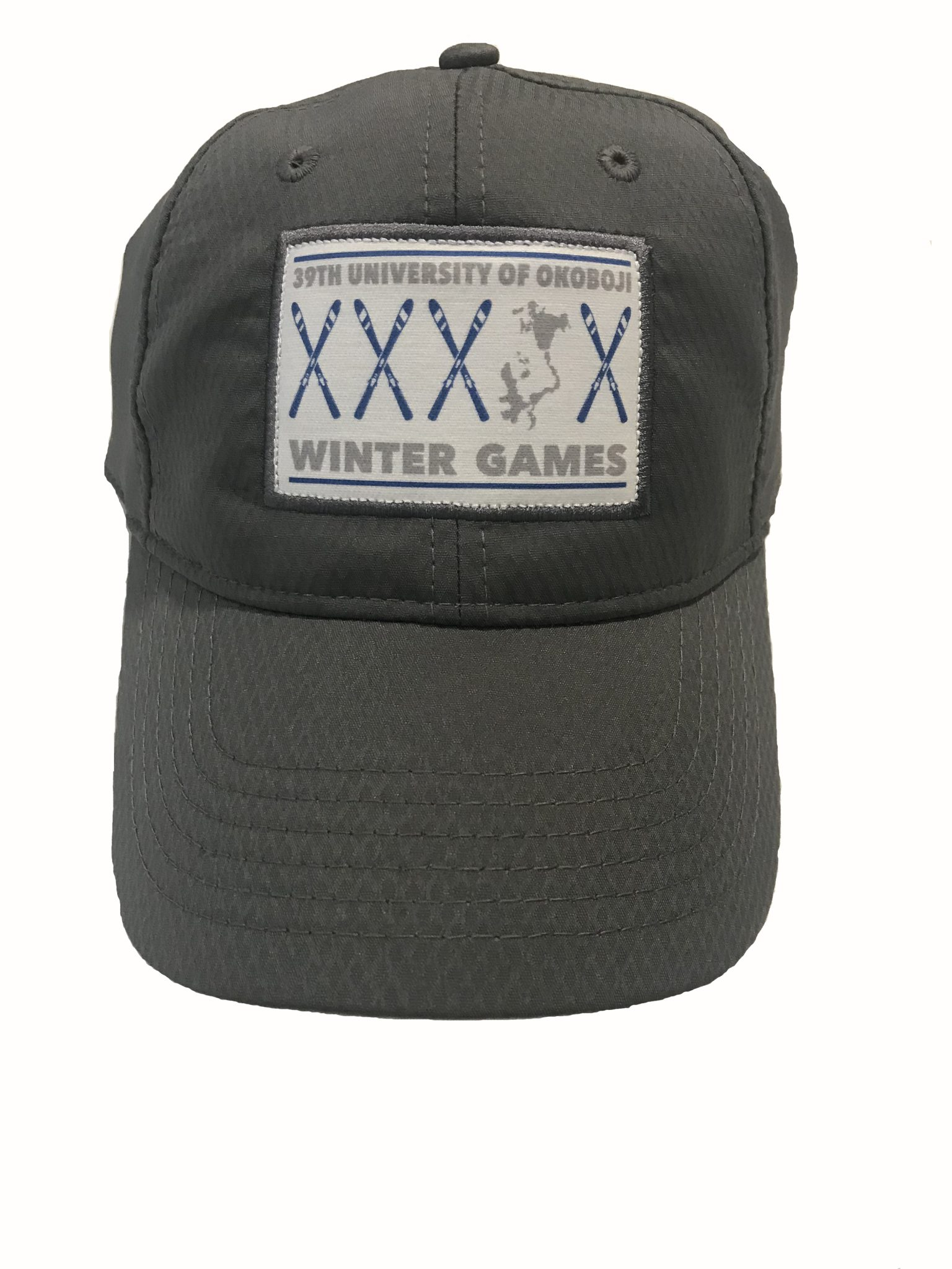 Dri-Fit Baseball Cap – University of Okoboji Winter Games ab32b139d282